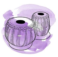 purple-tabla